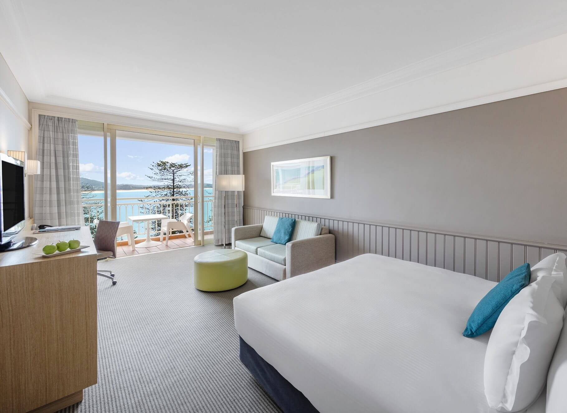 King Ocean View Room Terrigal