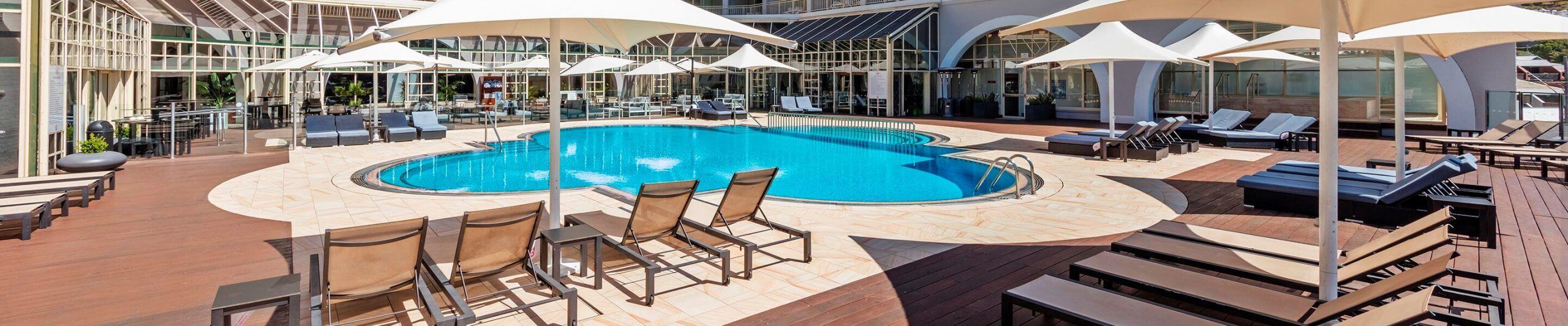 pool view crowne plaza terrigal