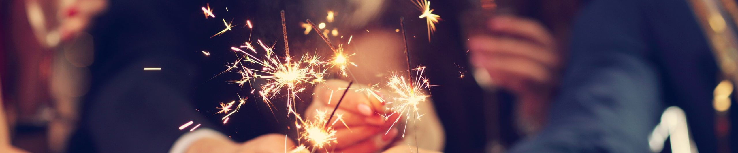 sparklers close up