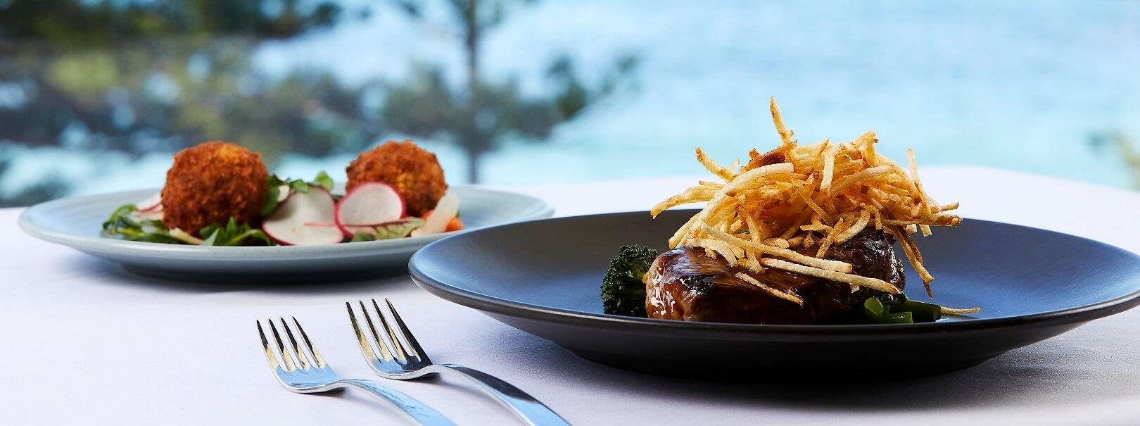 Dinner in Seasalt Restaurant